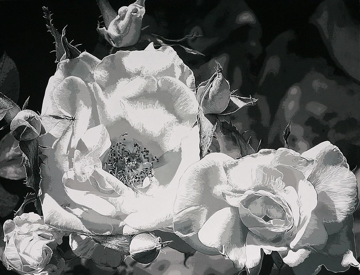 16. Roses 2-NB7- TM - 89 x 116 cm