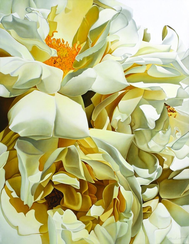 2. Blanc beige2 - Gal. Daniel Besseiche - AST - 114 x 146 cm